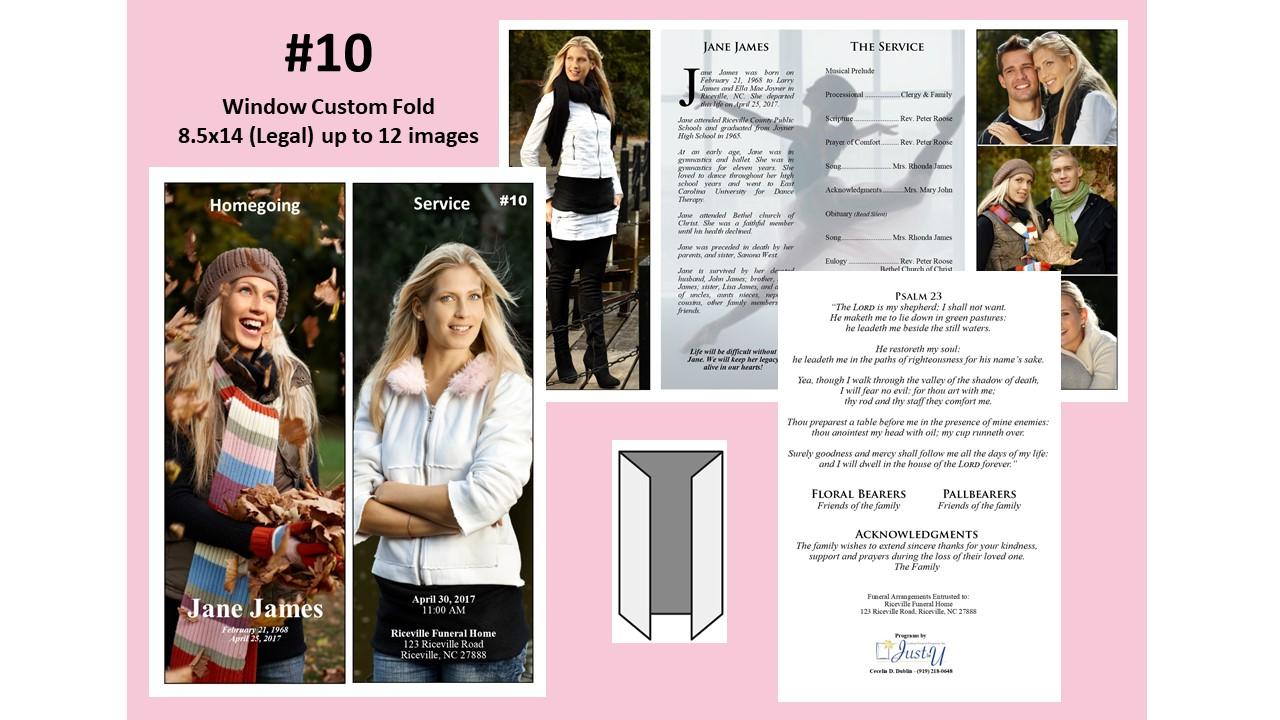 Window Custom Fold- up to 12 images