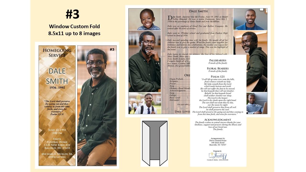Window Custom Fold - up to 8 images